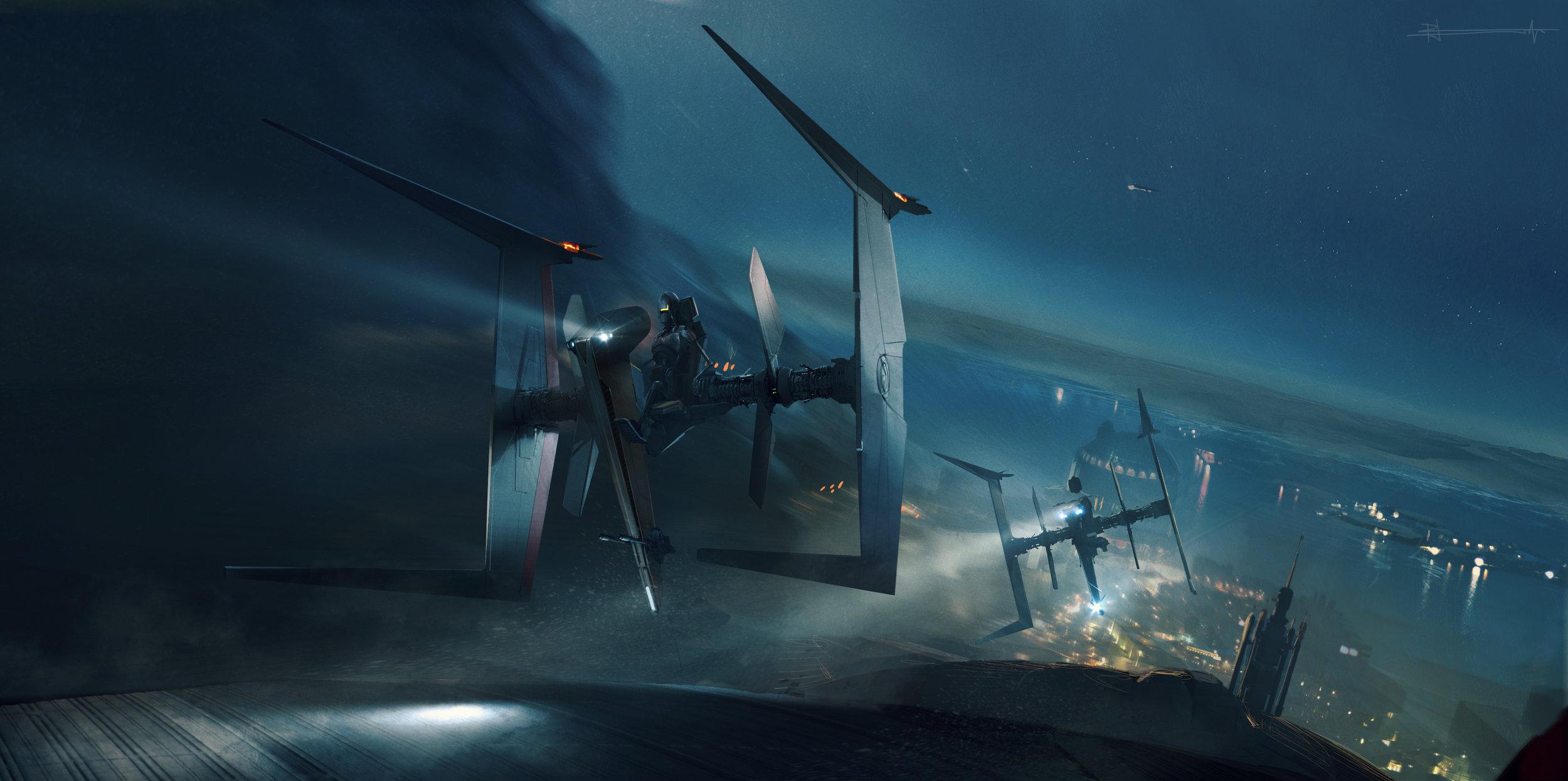 Police Speeder /   Star Wars VIII: The Last Jedi