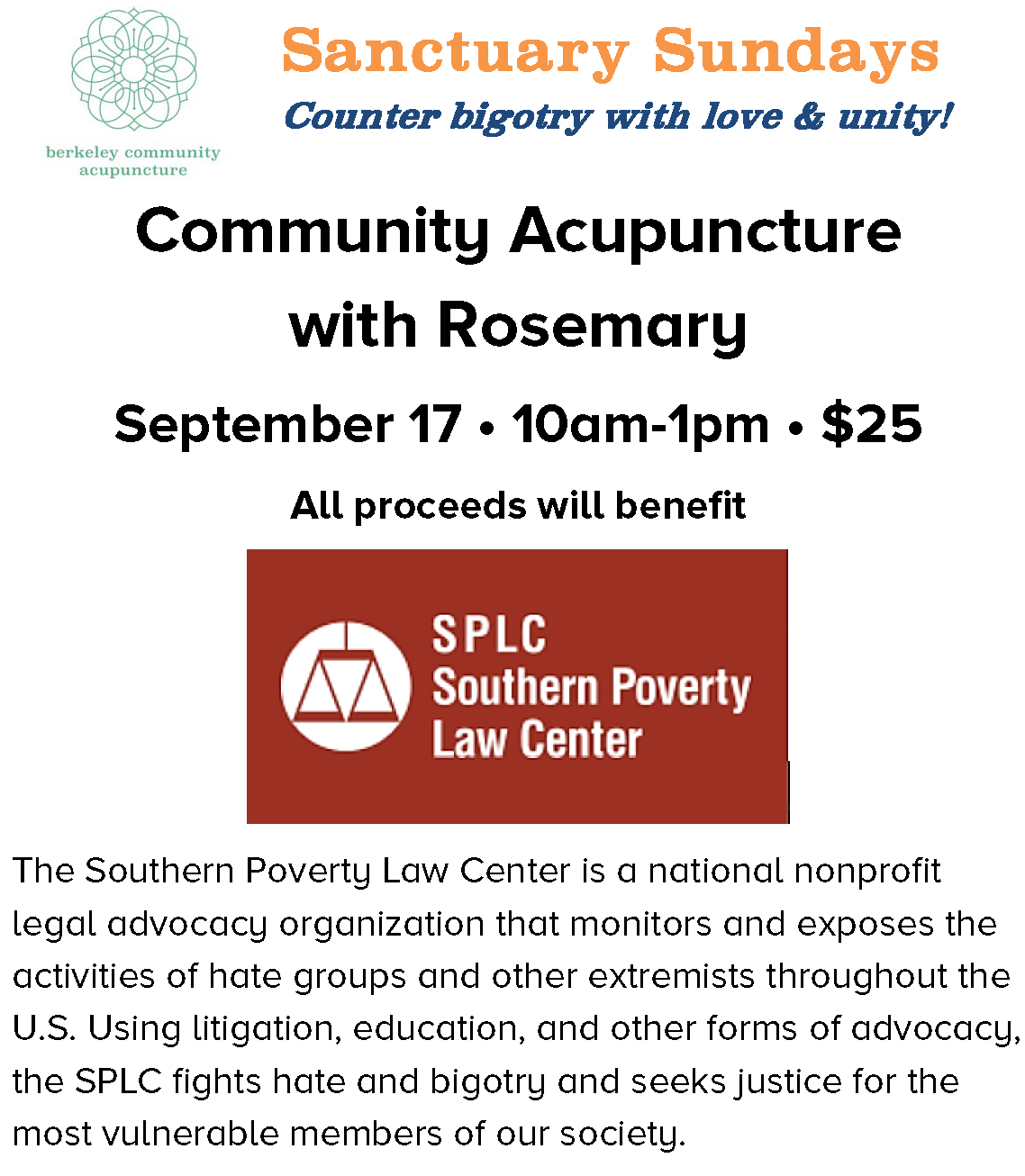 Sept '17 Sanctuary Sunday flier and donation box text.png