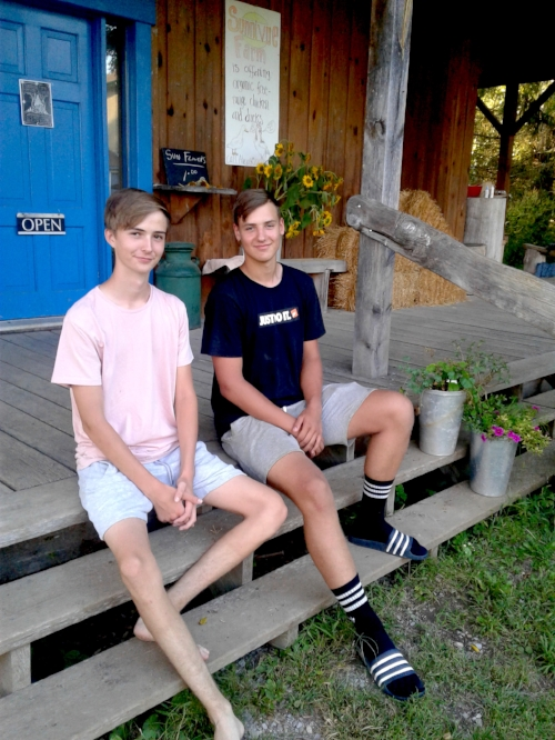 Moritz and Mathis on the porch.jpg
