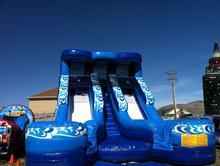 Double Wave Splash Slide