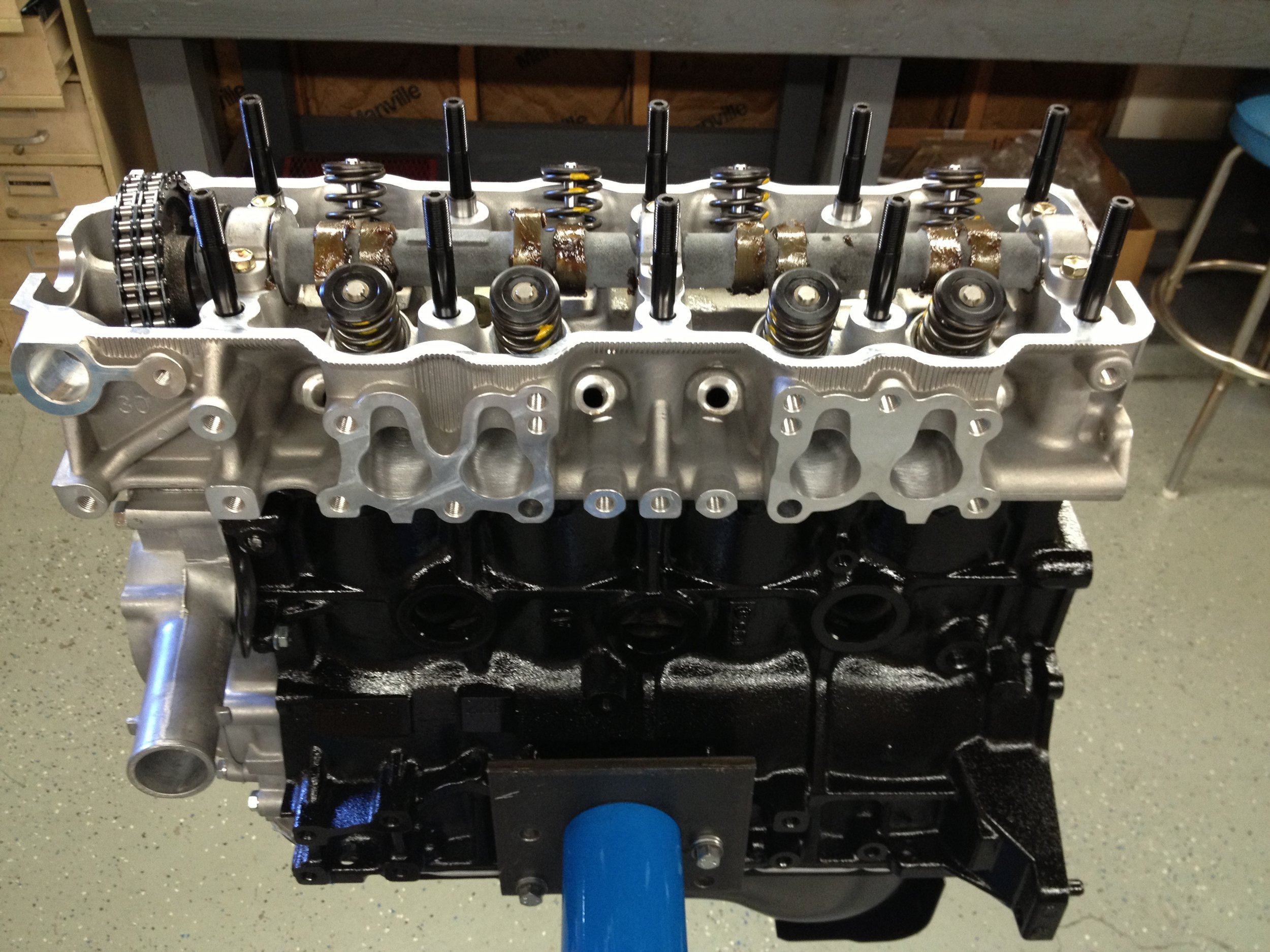stage 2.5 shown with dual row timing kit installed