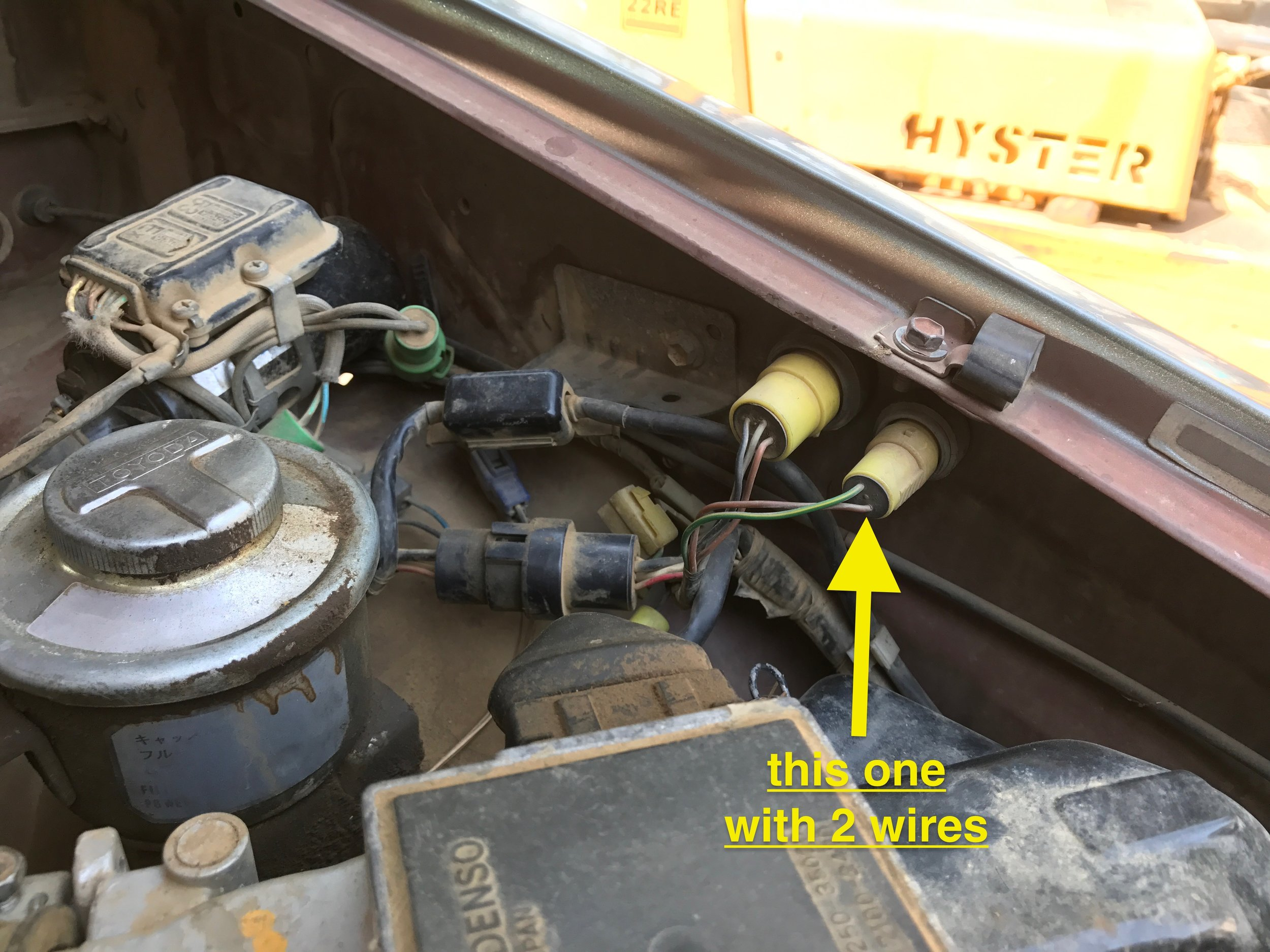 1985 toyota 22re wiring harness diagnostic info     22re performance  diagnostic info     22re performance