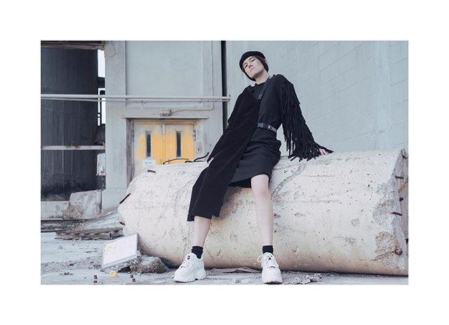 #mesnikovich #fw1920 #minimal #techno #technostyle #technofashion #photographer @tonyapolskaya #model @krasavinatania