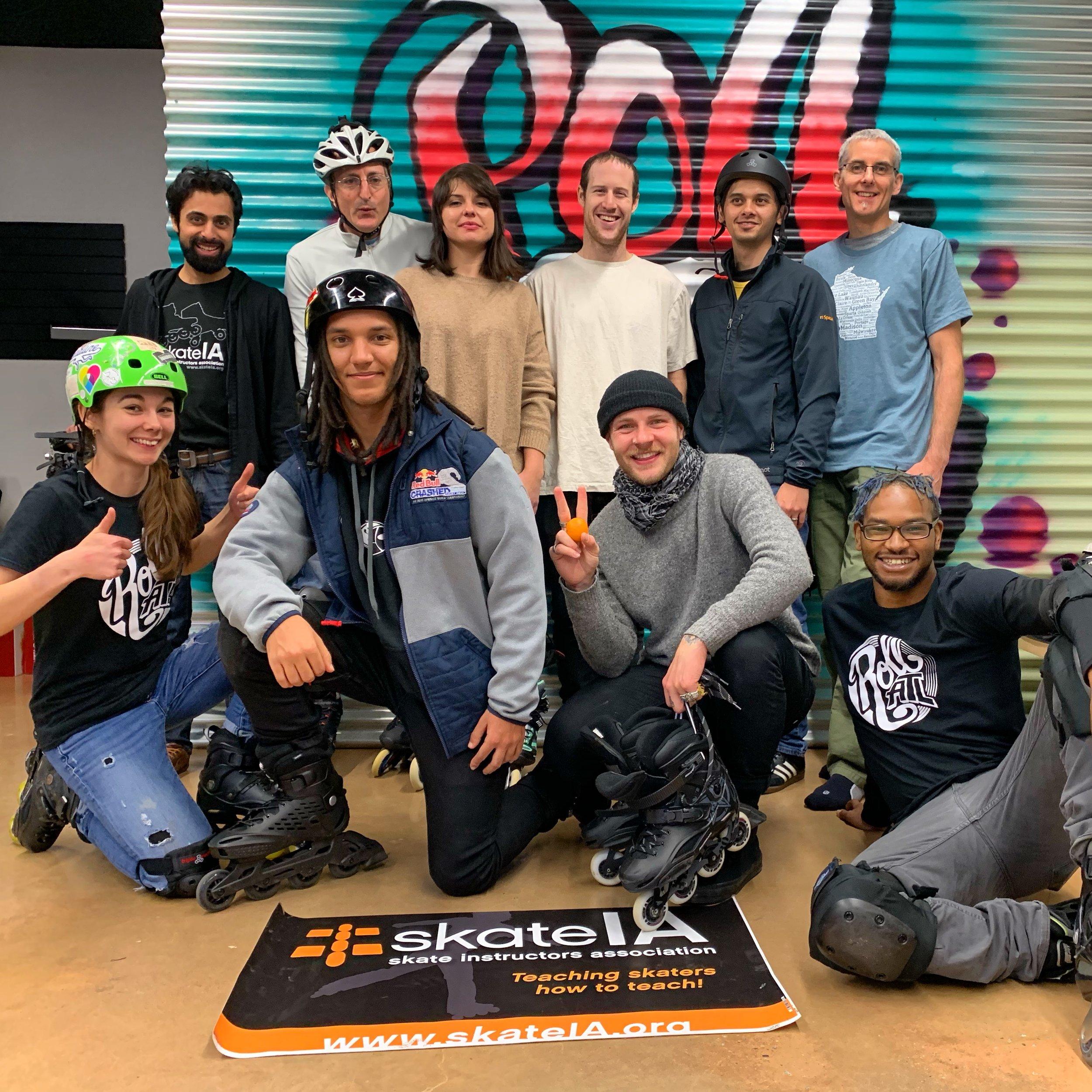 SkateIA Atlanta January 2019 Class