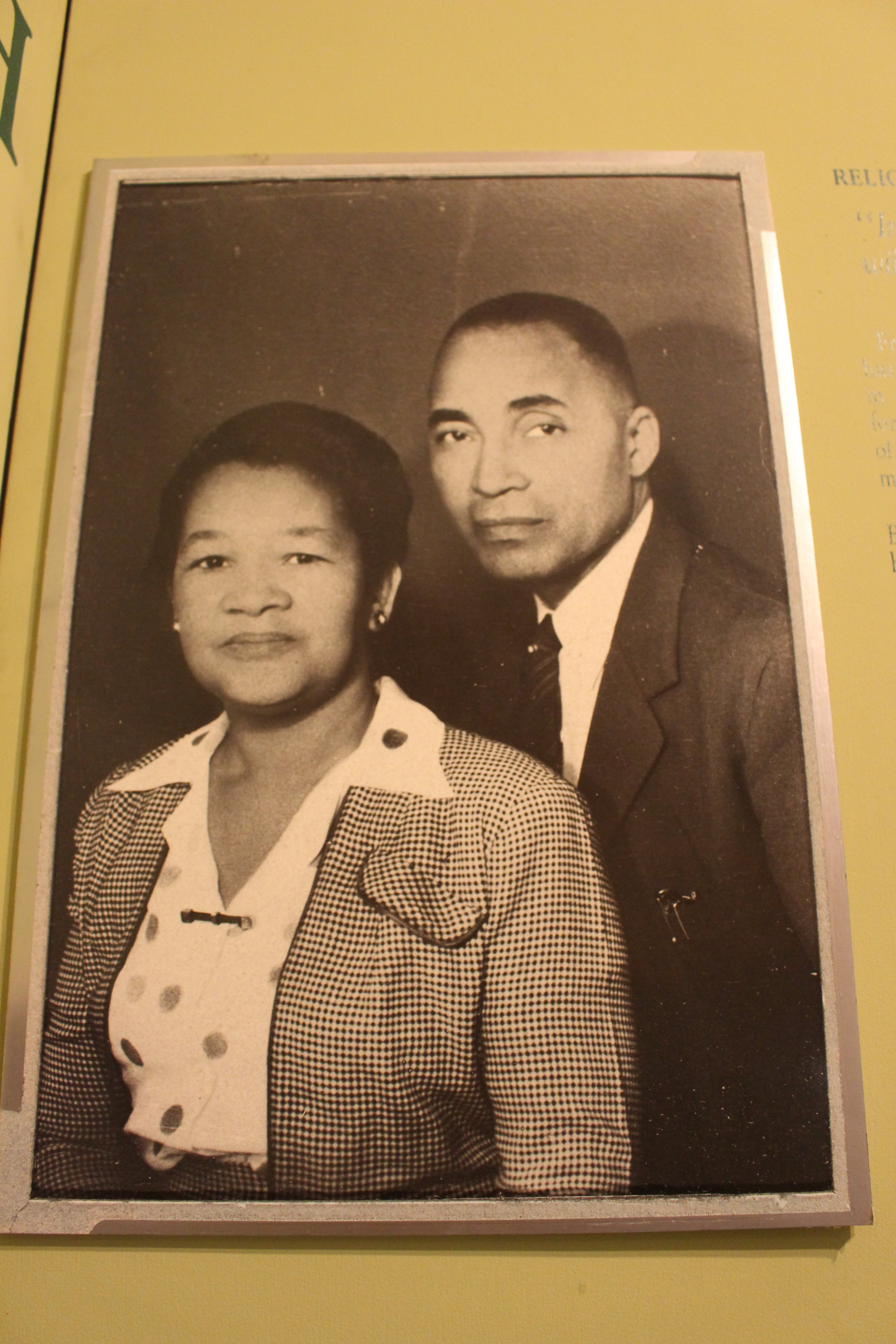 Professor W. E. Nash and wife, Willa Ann