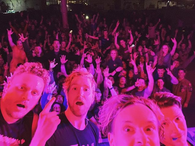 Thank you one million times to our USAF peeps in Doha, Qatar for 1. your service, 2. your friendship, 3. crowd surfing, and 4. throwing one hell of a party. Don't be strangers. We love you so.