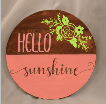 Hello sunshine with flower.png