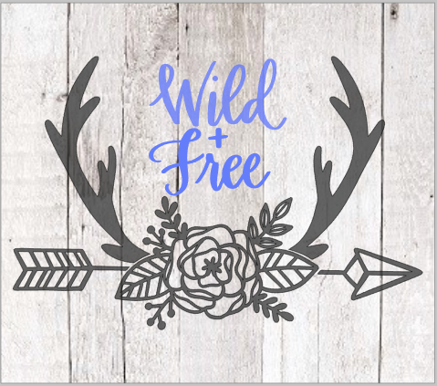 Wild & Free with flowers and arrow.png