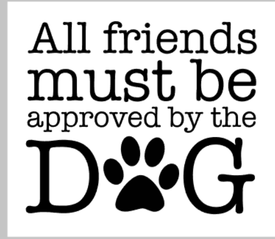 All friends must be approved by the dog.png