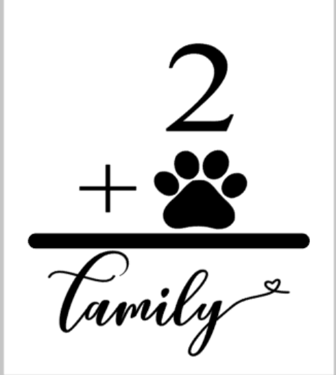 Number + Paw = Family.png