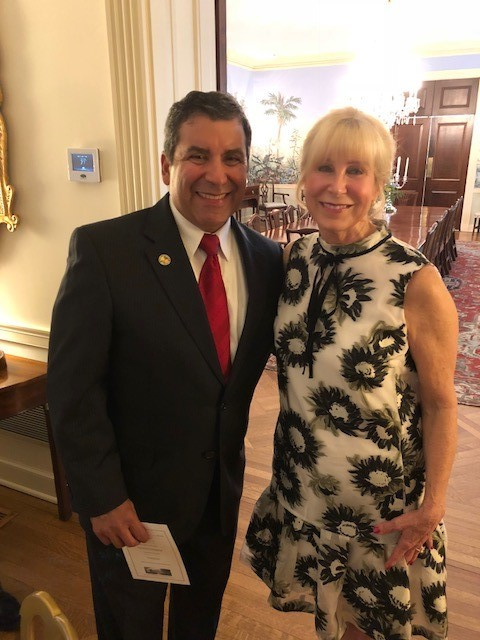 Commissioner Garza and Florida First Lady Ann Scott.jpg