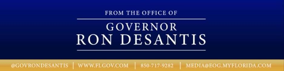Governor Ron DeSantis banner image