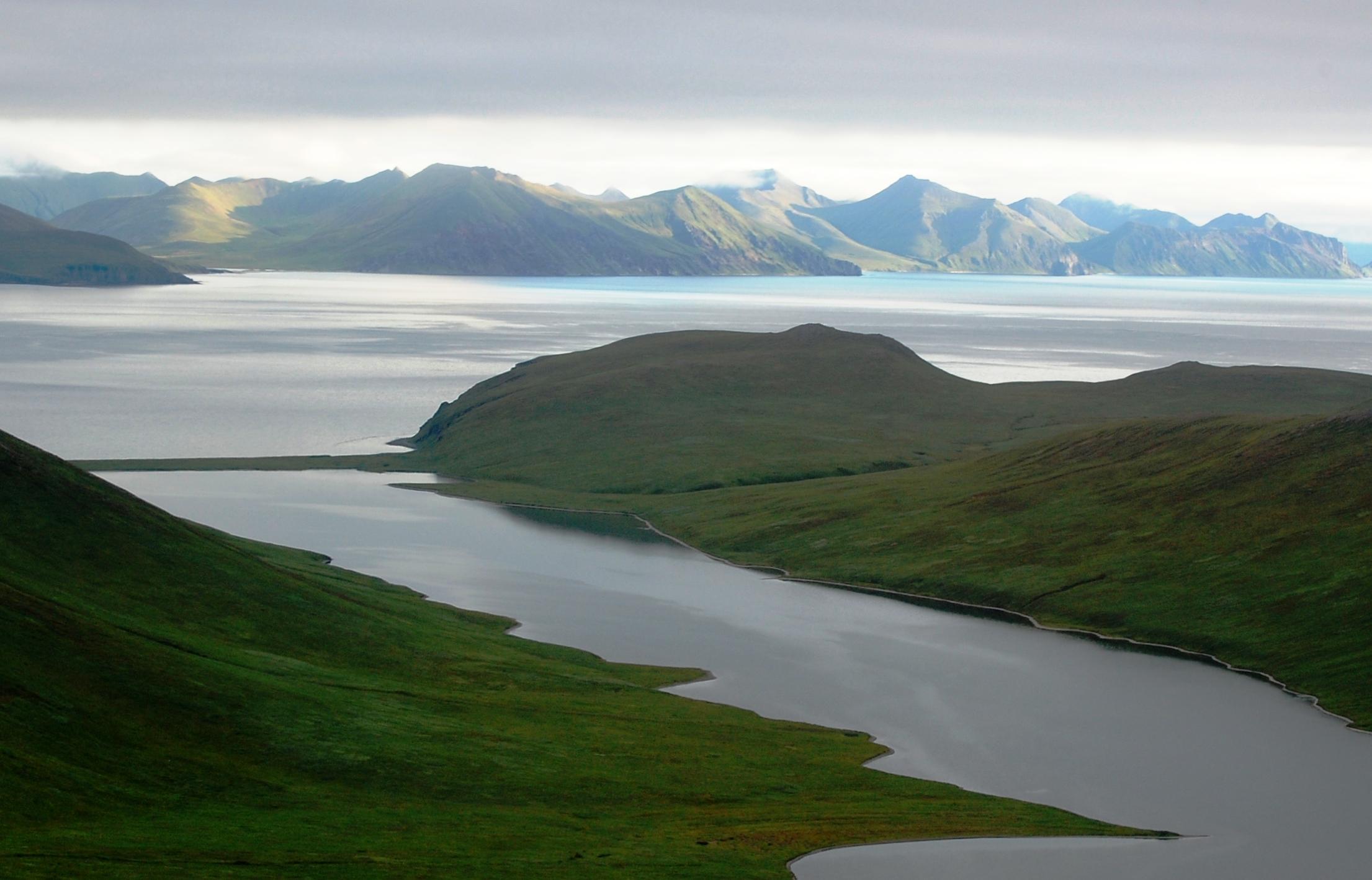 Unimak Island, Alaska Maritime National Wildlife Refuge. Photo by Kristine Sowl, USFWS