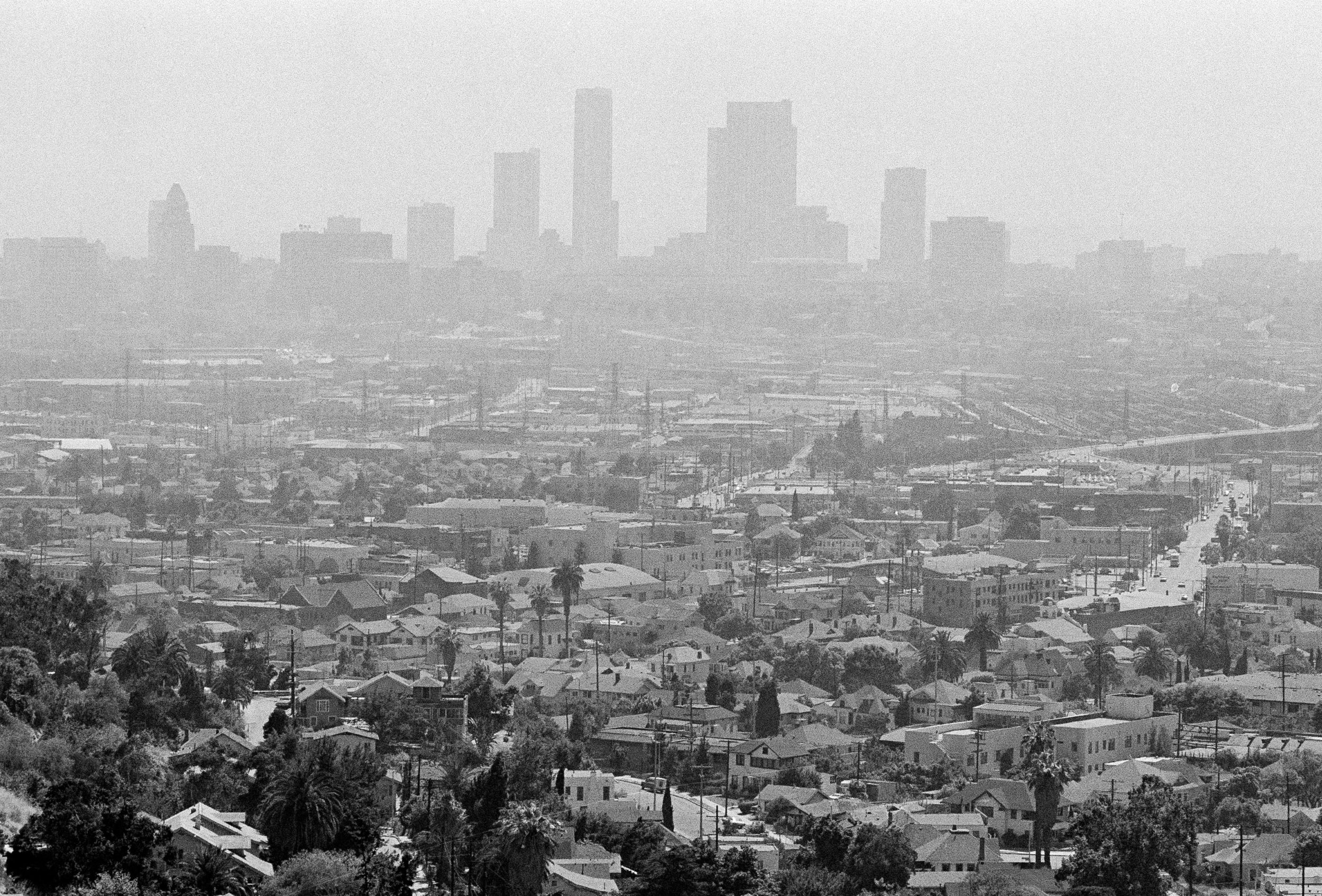 """Harvard's landmark """"Six Cities"""" study evaluated the effects of pollution on adults in the 1970s and 1980s. Researchers concluded that there was a strong link between chronic exposure to air pollution and mortality. Under Pruitt's rule, studies like this could be withheld from the EPA's process for creating new regulations because the raw data contains names, addresses and private health information of individuals.(AP Photo/Nick Ut)"""