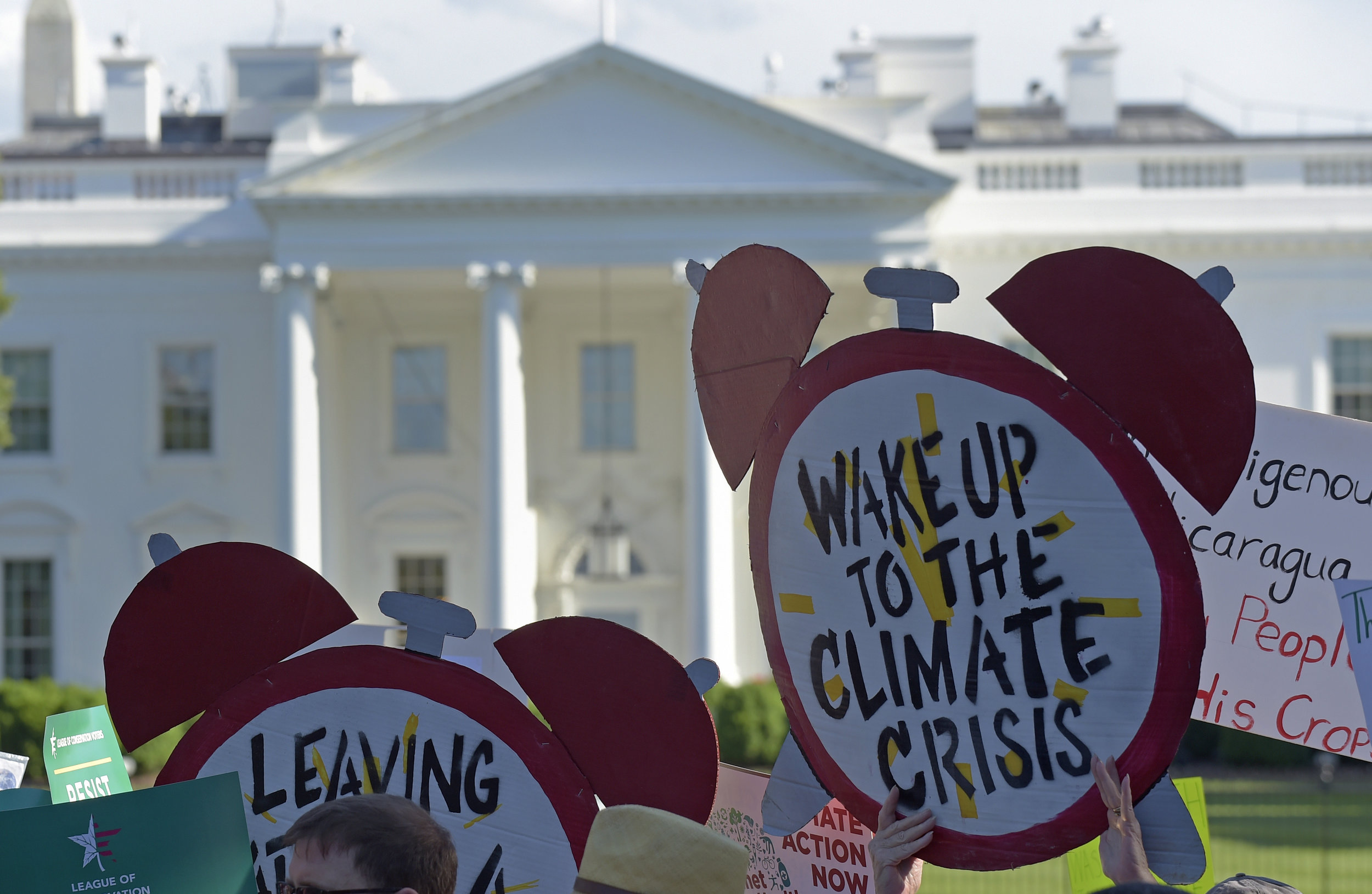 Environmental activists are ramping up a pressure campaign aimed at stoking Democratic support for an ambitious environmental plan known as the Green New Deal ahead of the 2020 presidential race. (AP Photo/Susan Walsh)