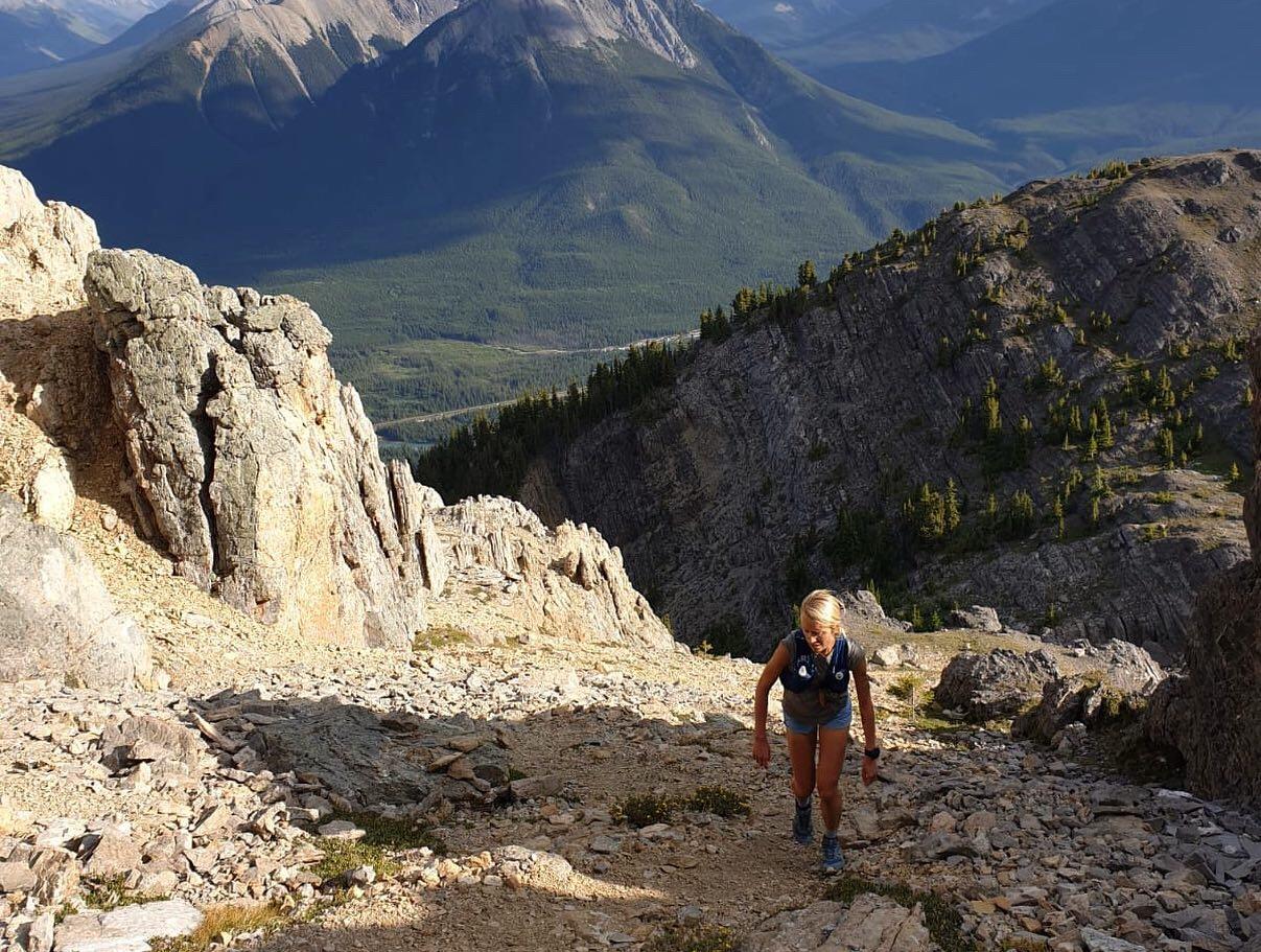 mountain-running