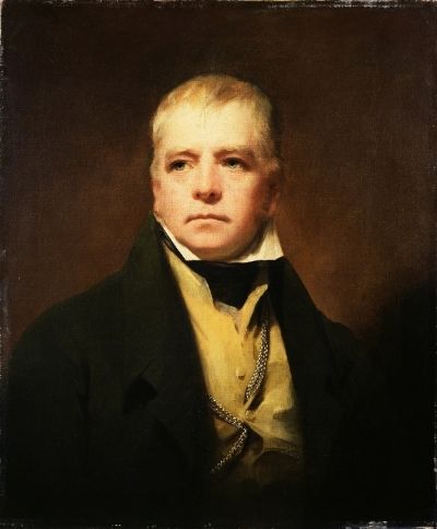 """Sir Henry Raeburn - Portrait of Sir Walter Scott"" by Henry Raeburn - The Bridgeman Art Library, Object 68272."