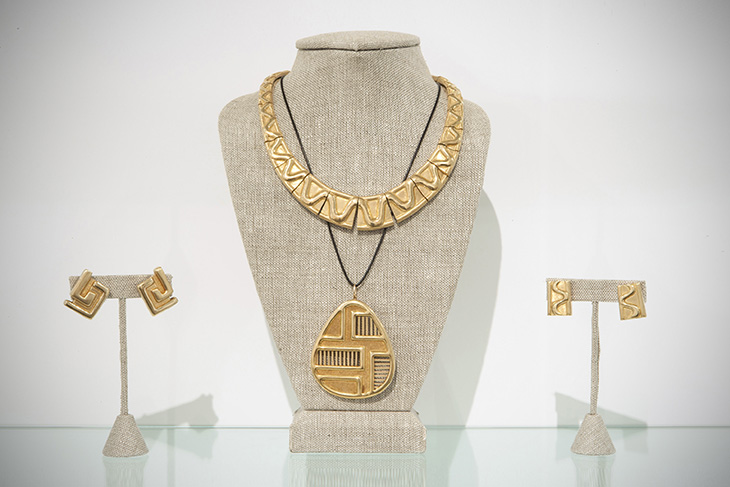 Forma Livre Burle Marx Brothers Geometric Jewelry Wright Gallery