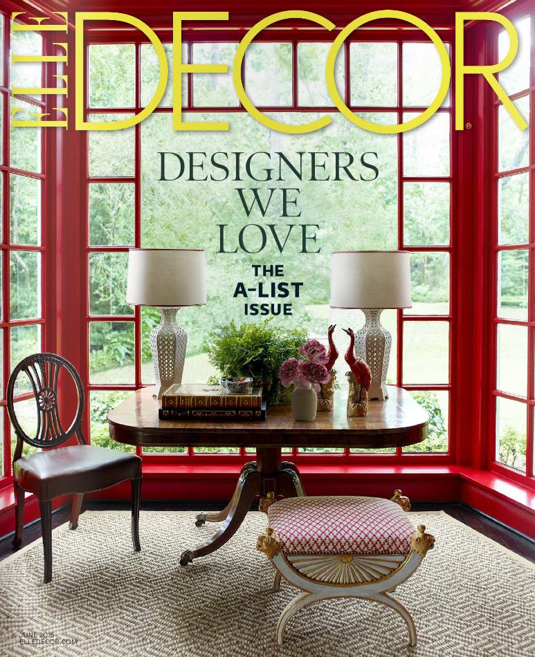 Elle Decor - June 2016 - Cover.png