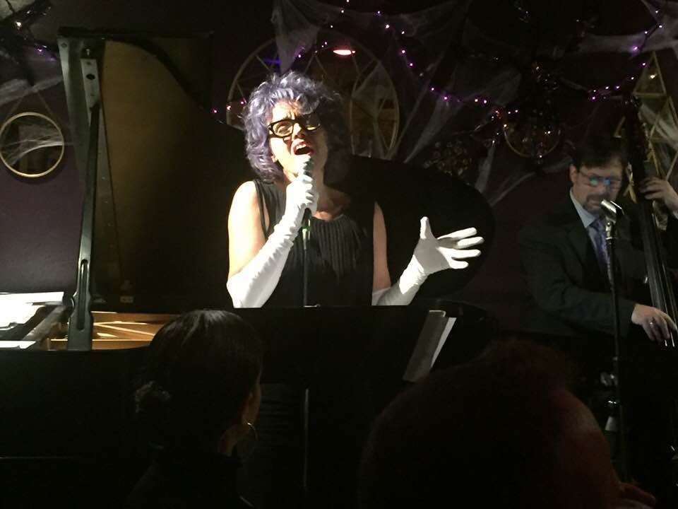in performance at Maureen's Jazz Cellar, Nyack NY