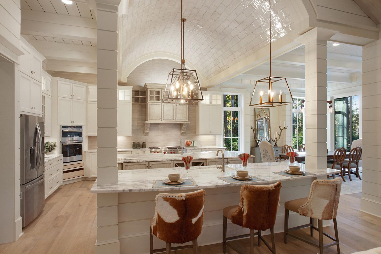 Modern 21st Century Open Kitchen Concept