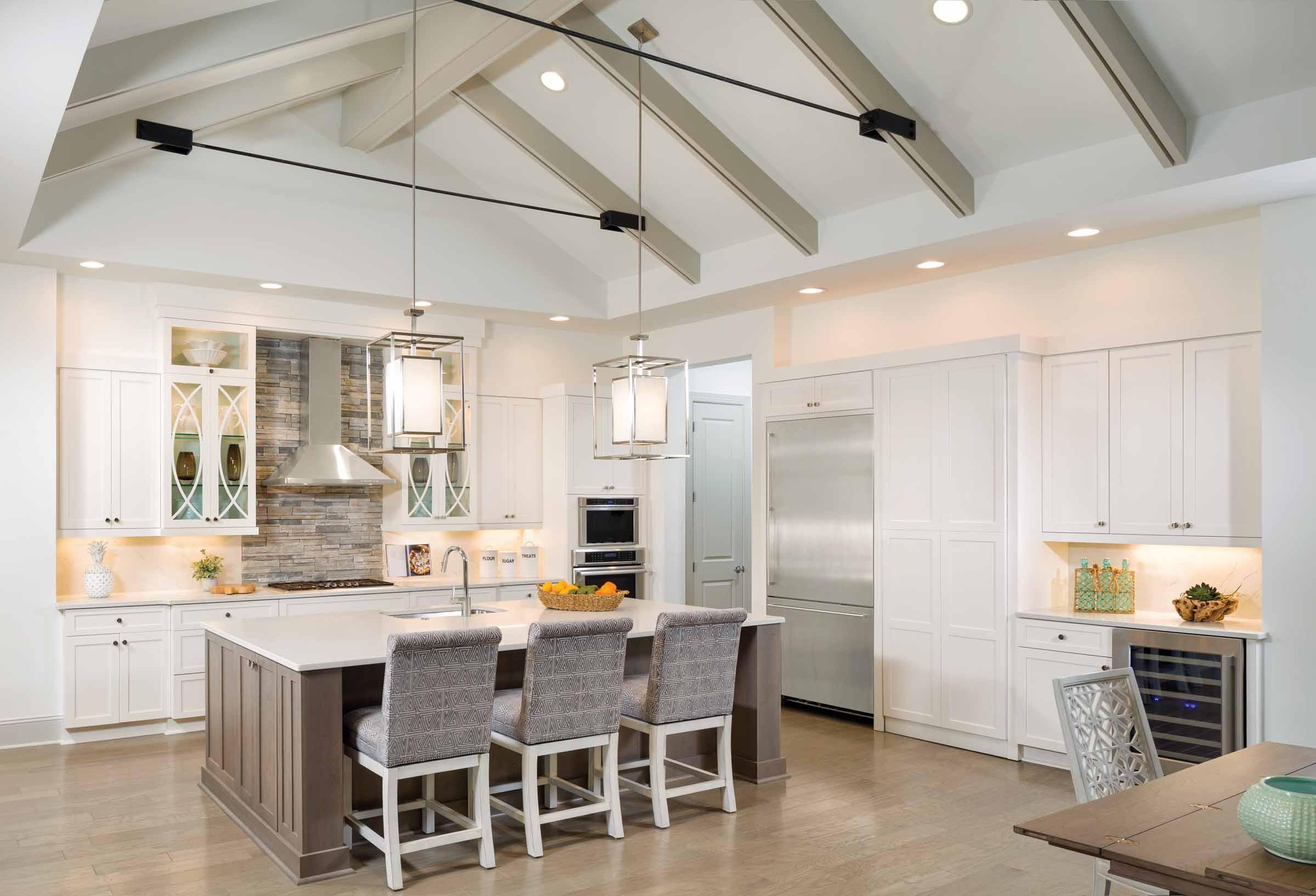 Monceau Open Concept Kitchen