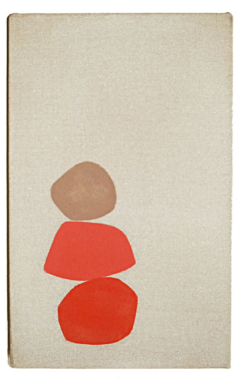 Christian Aldridge - Stack, 2018. Oil & distemper on canvas. SOLD
