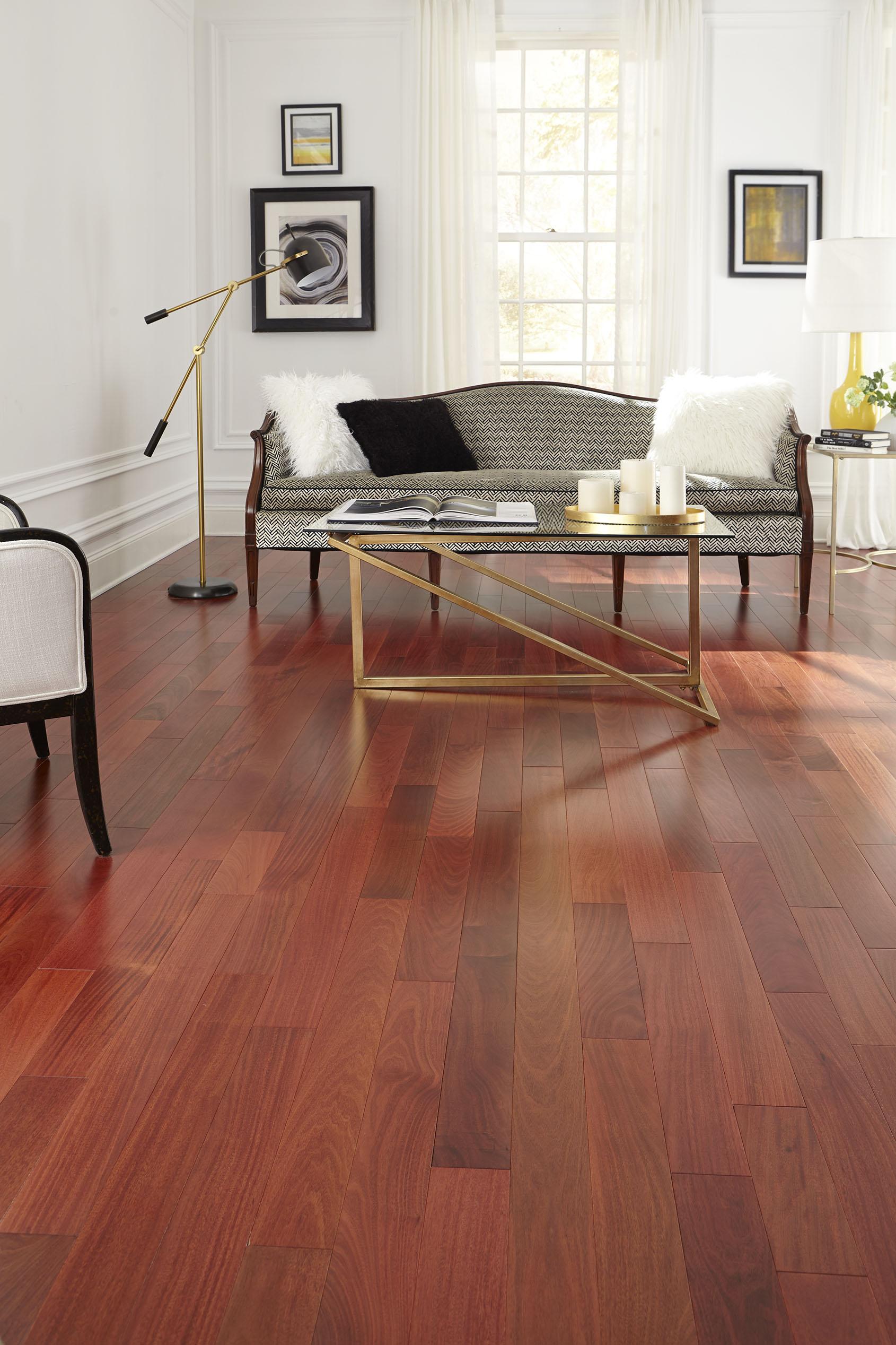 santos mahogany - natural