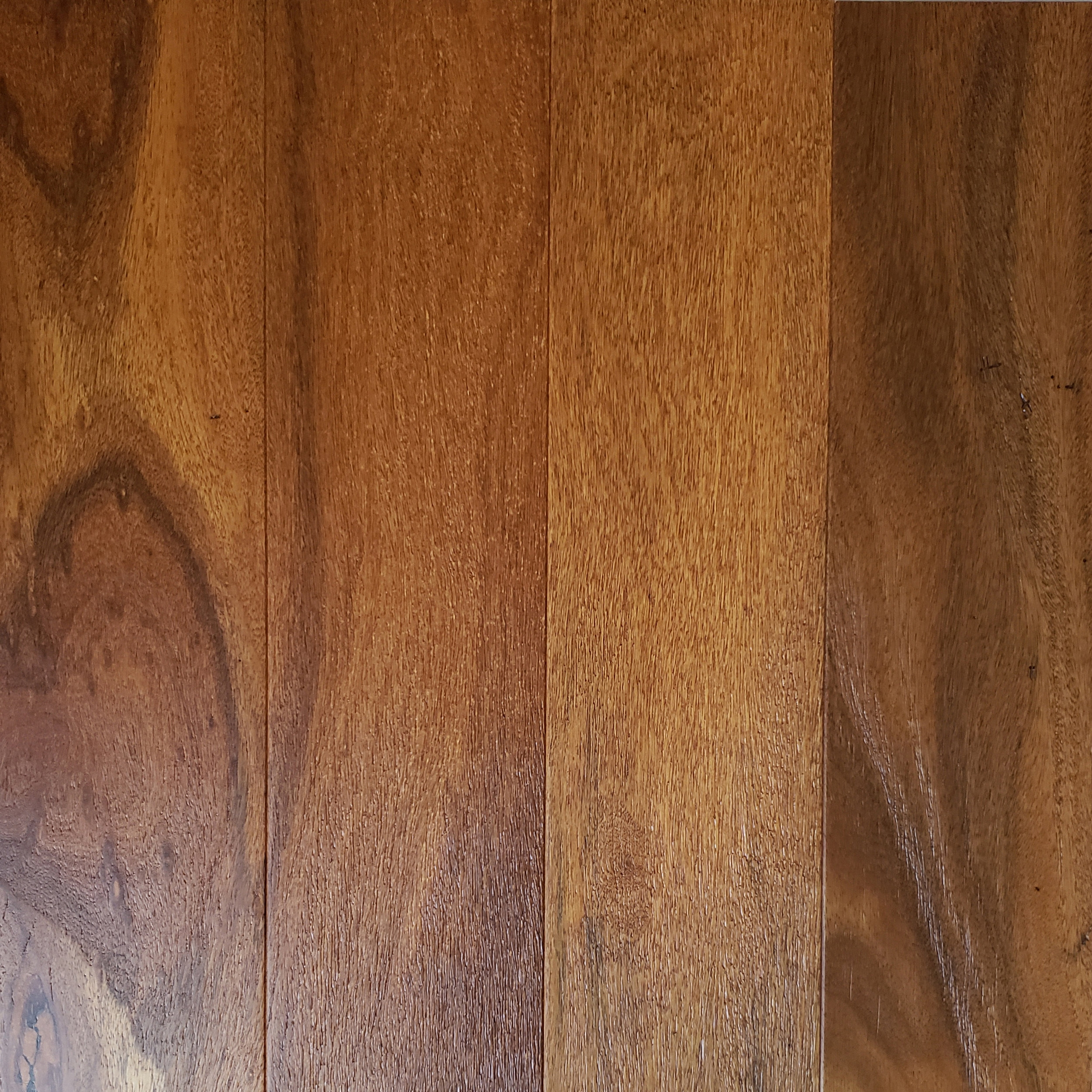 brazilian teak (cumaru) wirebrushed - java