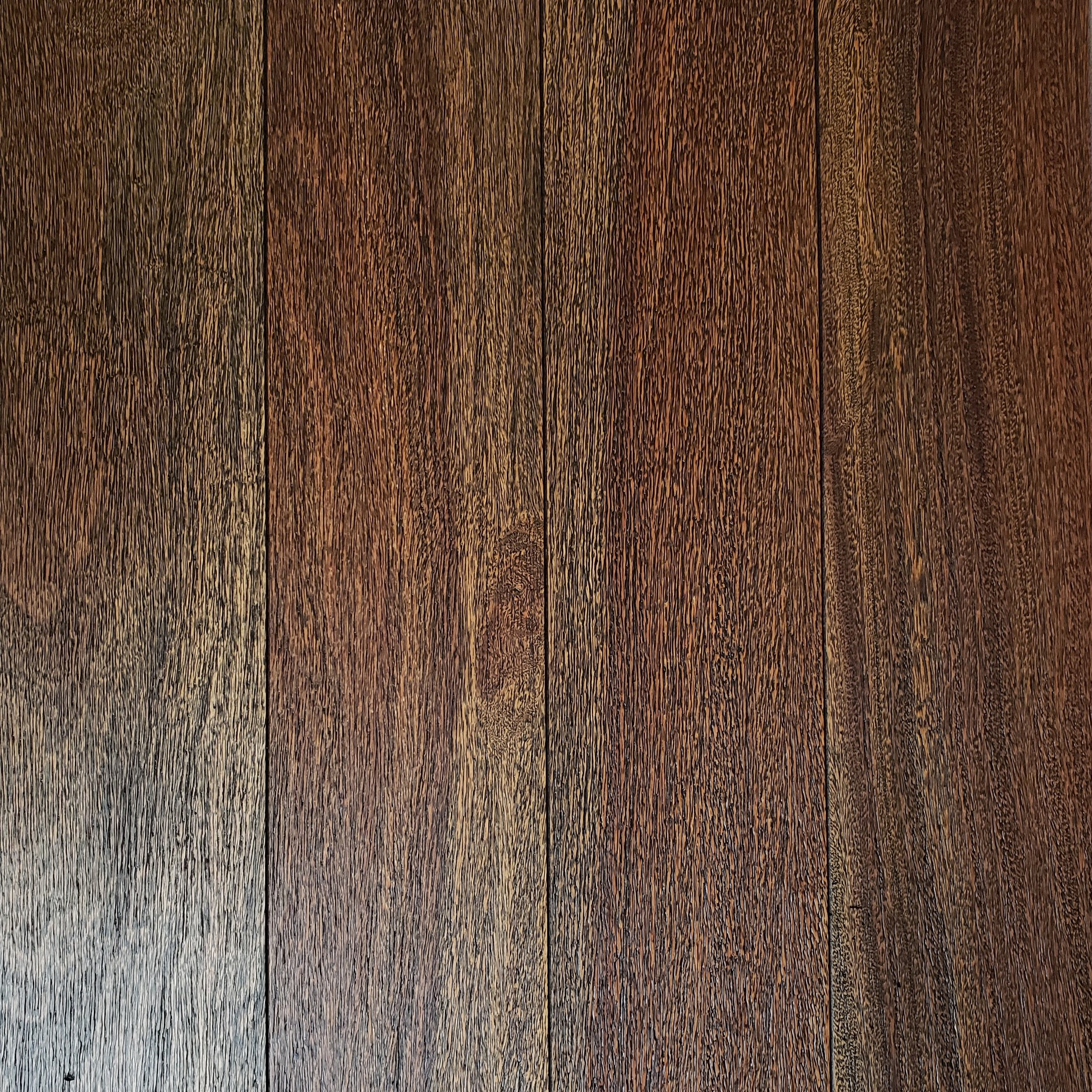brazilian teak (cumaru) Wirebrushed - millwood