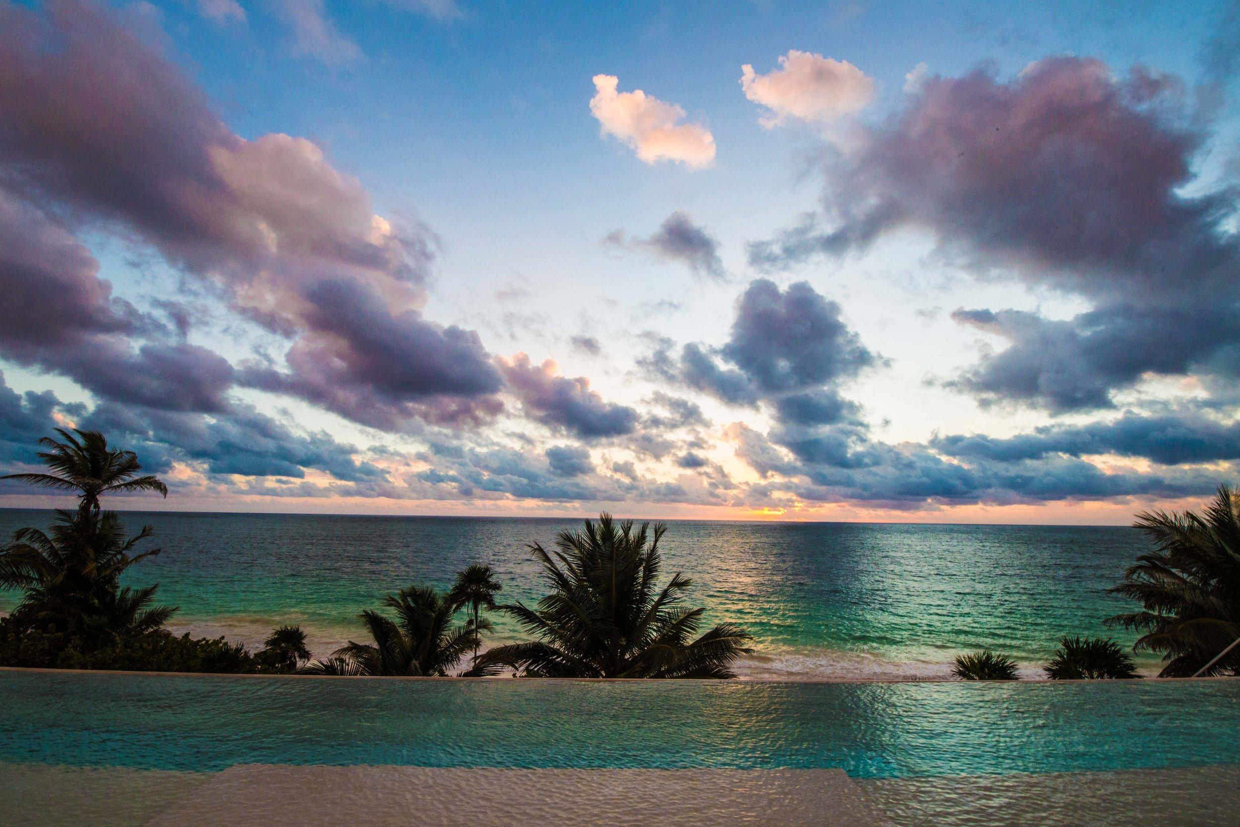 Infinity Lap Pool -  - Tulum Luxury Villa Na'iik