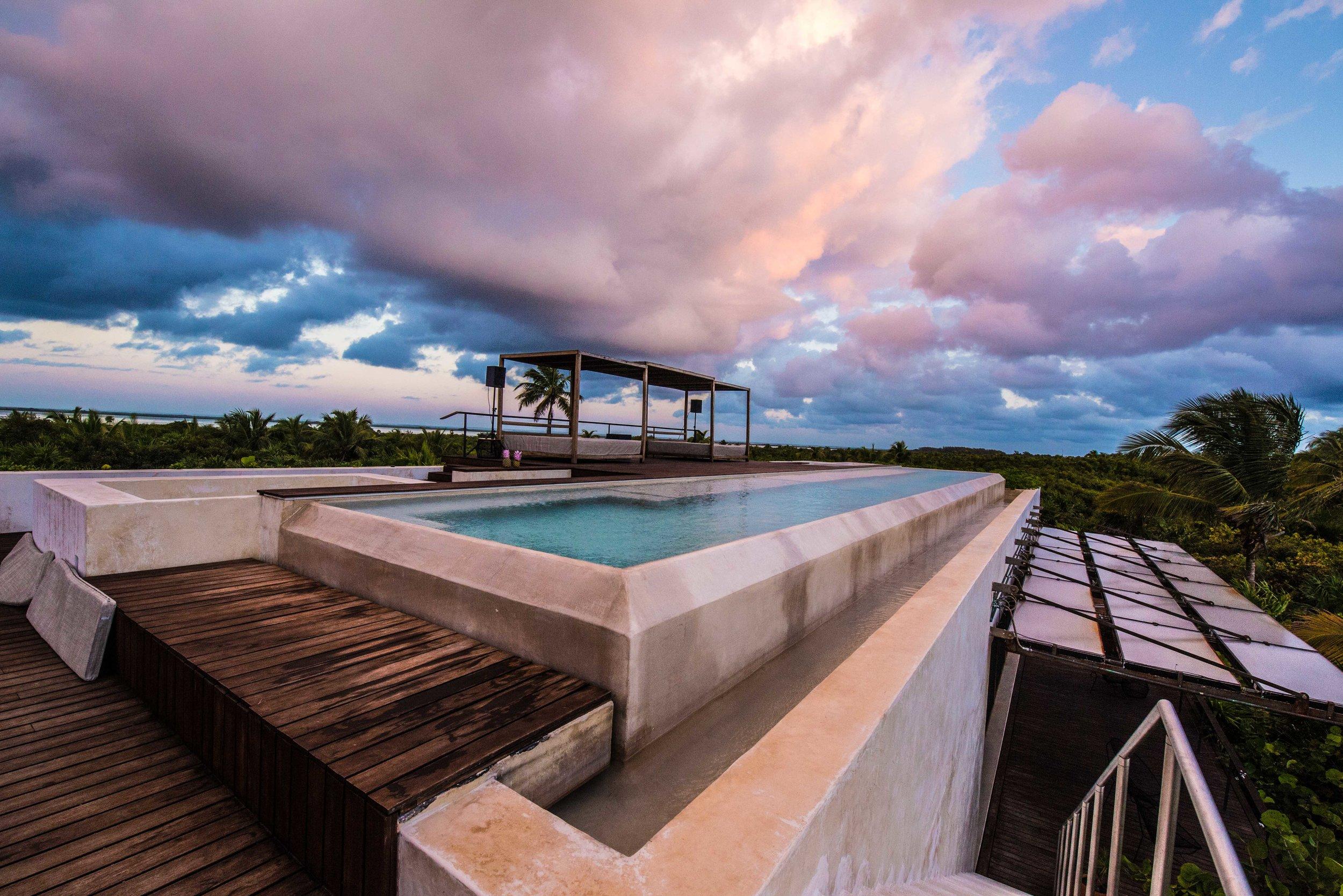 Infinity Lap Pool - Tulum Luxury Villa Na'iik