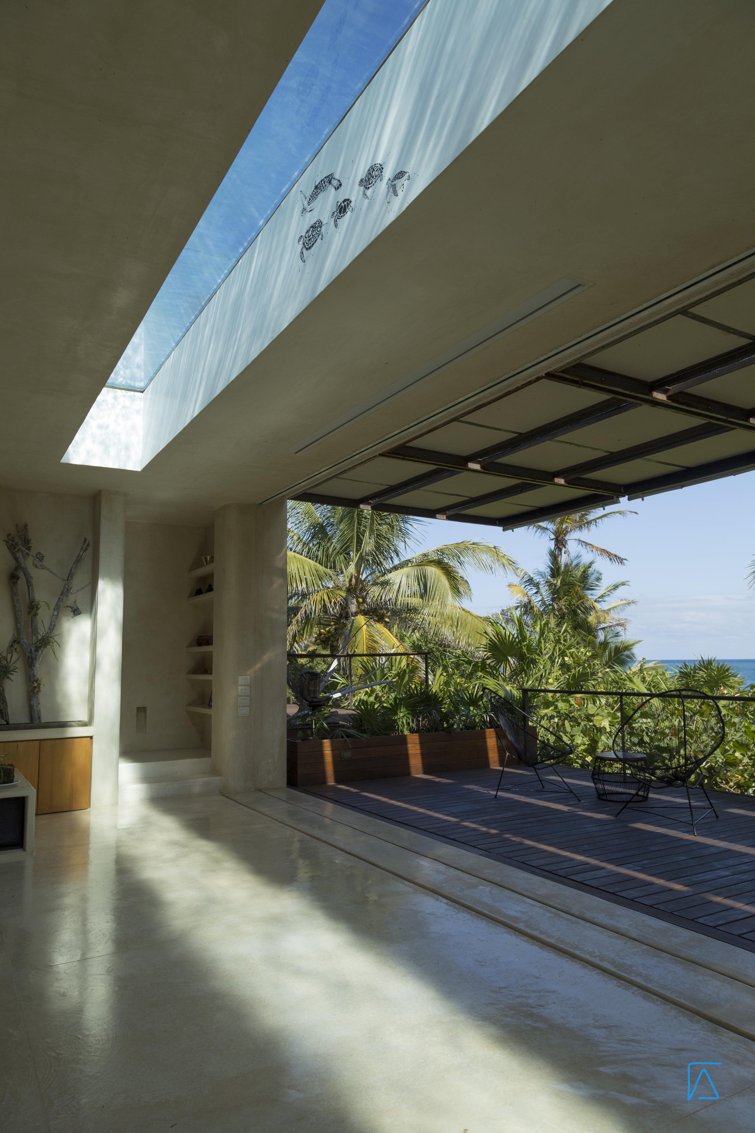 Glass Bottom Pool -  - Tulum Luxury Villa Na'iik