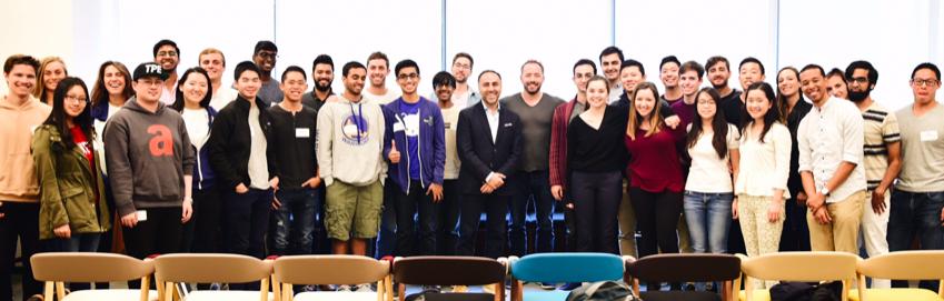 2017 Summer Companies visit Dropbox to meet with Drew Houston
