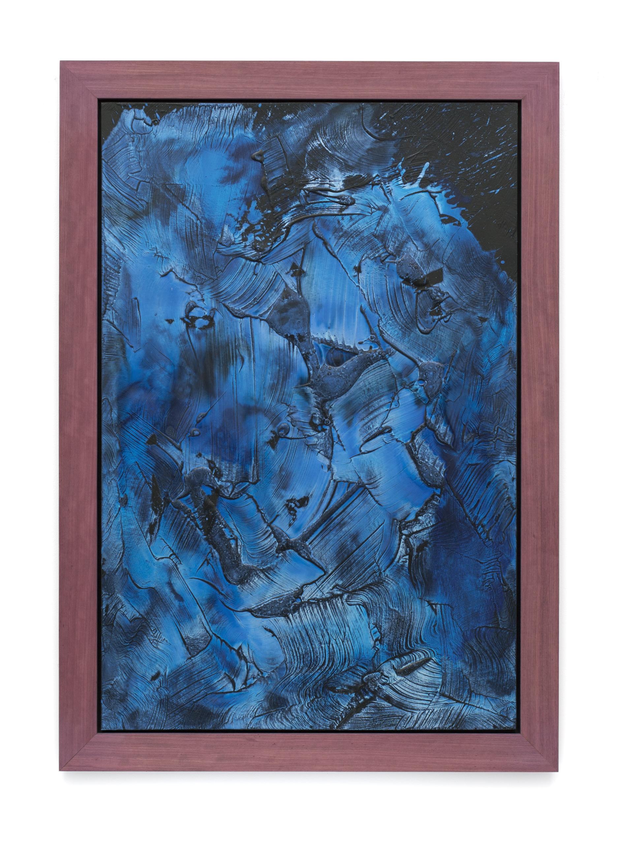 """Untitled (Can't Swim 10), 2018, Acrylic on archival foam board, 49 1/2"""" x 32 3/4"""""""""""