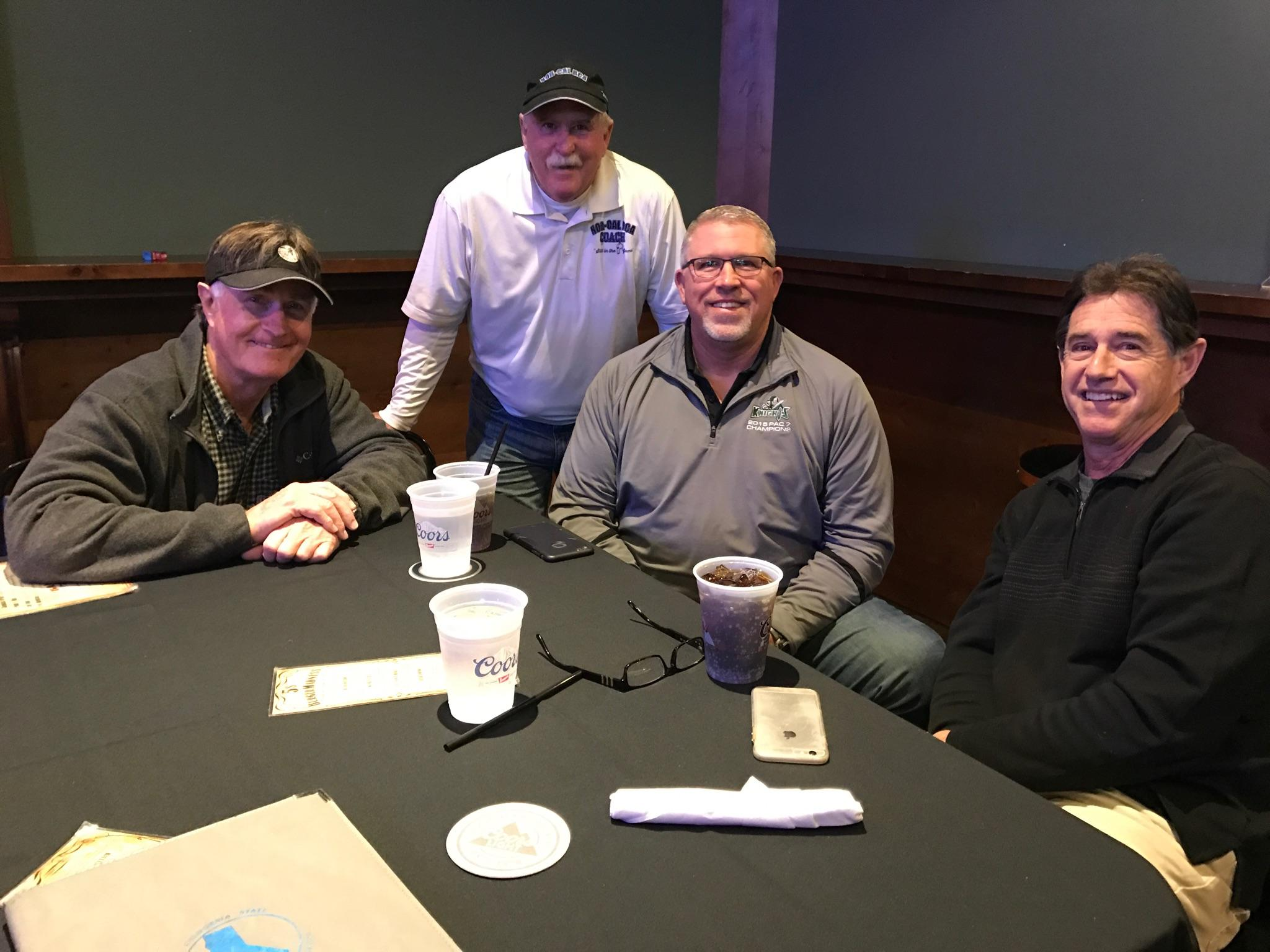 Left to right: Mike Moynahan, Lon McCasland, Craig Thompson, and Clay Erro