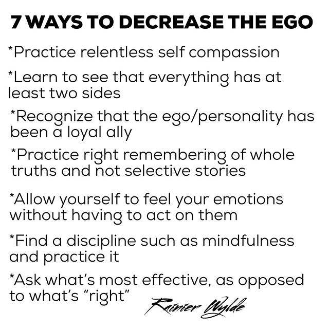 "The easiest way to see your ego? Get into a relationship. +++ . It's never going to be over. The struggle. The dance. The tension. But these are realities that can begin to help+++ . We are so conditioned to defeat that we imagine ego can never live out of his essence—that we will always be a slave to our ego. But the ego, with its constant fearfulness, can be let go of+++ . It effects each part of us—our thinking, our feelings, even our movements. But mostly the ego presents itself as our personality rooted in our mind.+++ . When we attach ourselves to another person, especially in a romantic relating, it all comes up. Our personality, our ego, is in prime display. We believe ourselves to be right, to possess the superior way of doing things. Our ego defends and cuts and tears. It pushes away anything that could be a threat.+++ . We notice this, with some difficulty, in this game we call Romance. But the truth is, it's always happening. That's what our Ego is always doing. It's a loyal soldier working on overtime to protect us. +++ . But, how's that been working for you? Because at some point, the men who come to me say ""it stopped being effective."" Then what?+++ . The list above isn't comprehensive. But it's a start. It'll take you there. Especially finding a practice for self observation. +++ . I get asked what method I use more than any—RELATIONAL YOGA...which is to say, being aware of your self, while relating to another. It becomes the spiritual path. It becomes the transformational instrument. More than any other+++ . . #ego #personality #essence #shadowwork #self  #menswork #tuesdaymotivation #polarity #truthbombs #sacredmasculine #divinefeminine #growthmindset #likeforfollow #likes4like"