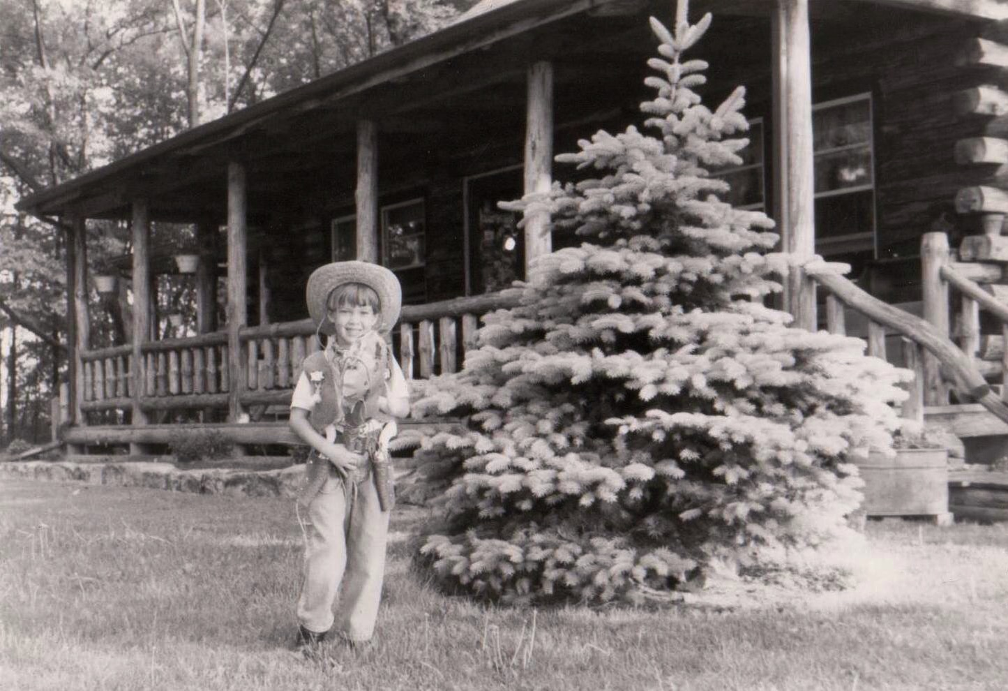 My early cowgirl days. Little did my parents know this was actually a dream I would pursue.