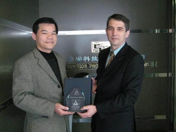 榮獲TUV Rheinland頒Best Partner Award