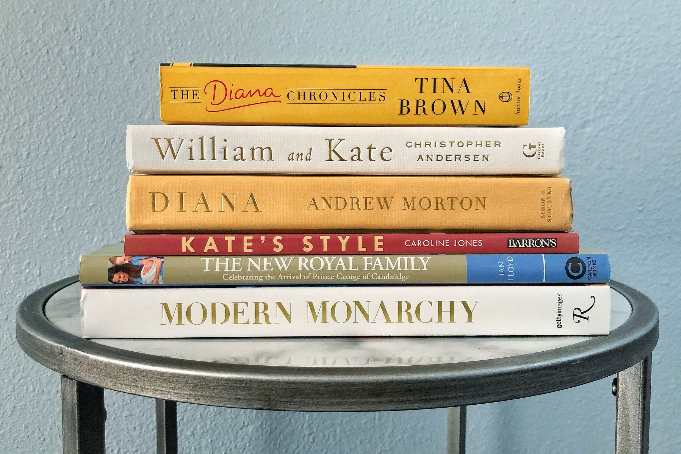 Tops on my list (and stack!) is   The Diana Chronicles   by Tina Brown.
