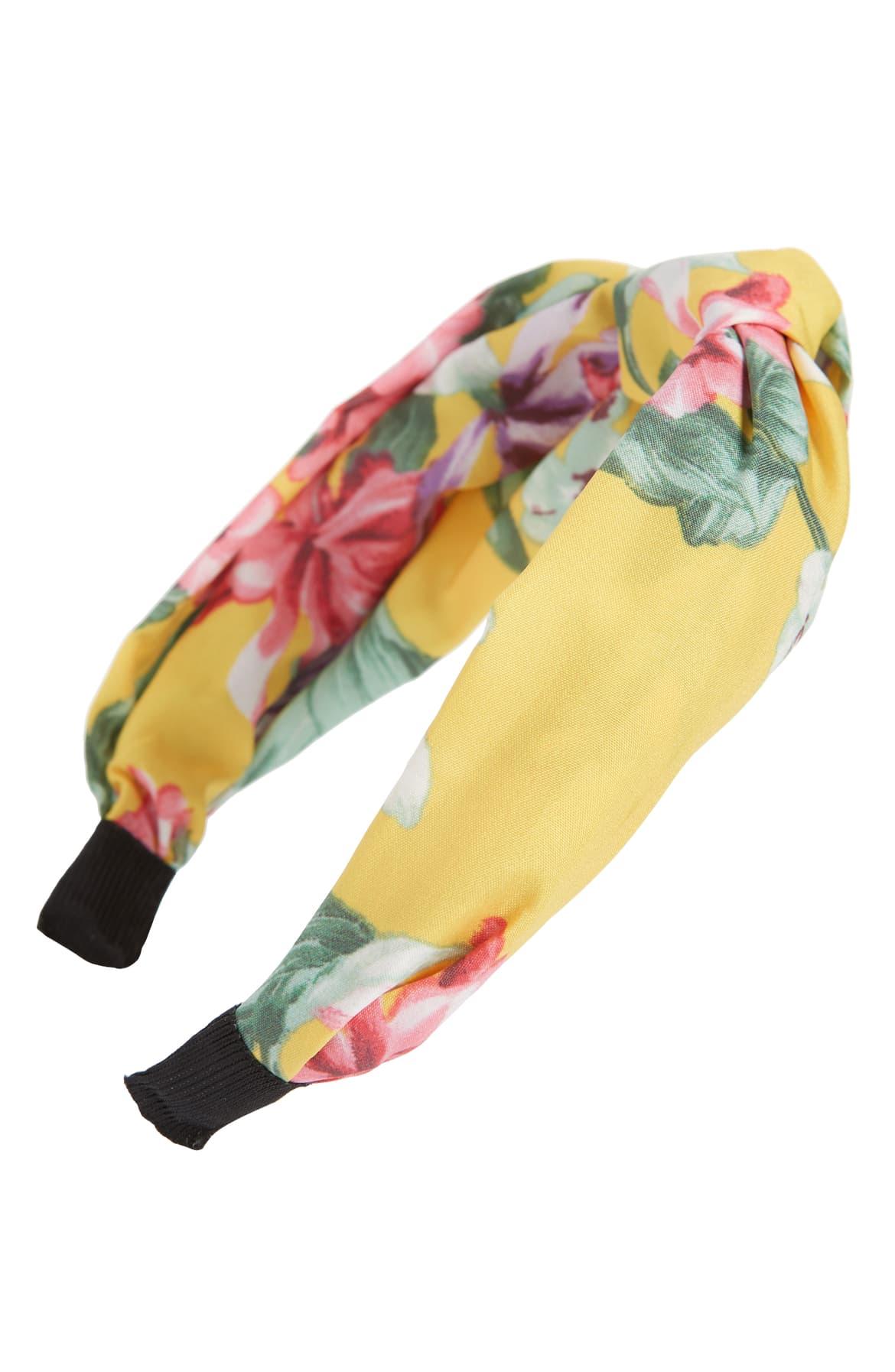 Tasha Knotted Floral Headband ($24)