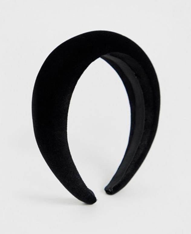 ASOS Velvet Padded Headband ($13)