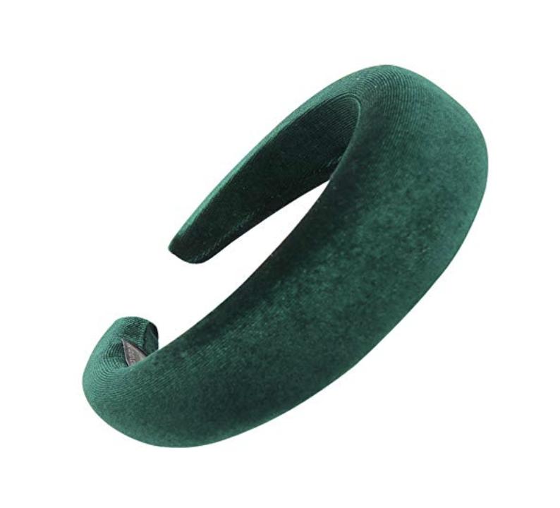 Amazon Padded Velvet Headband ($7.99)