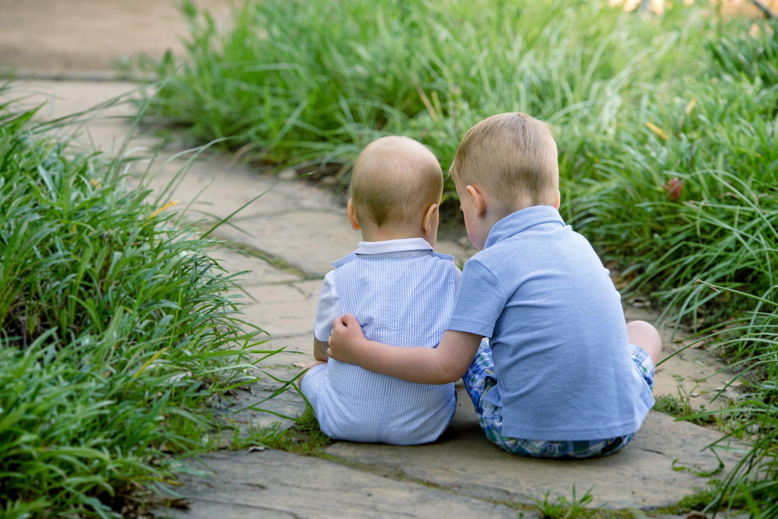 My little dudes when they were even littler!  Photo credit: Lindsay Wiser