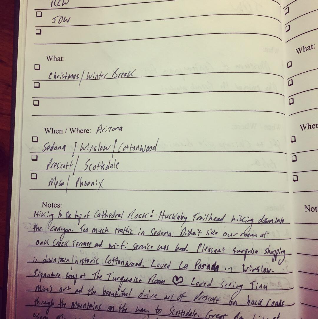 Notes from the road - Arizona