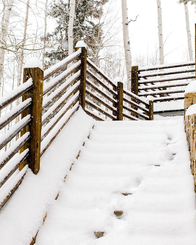 A snow fallen dream 😍