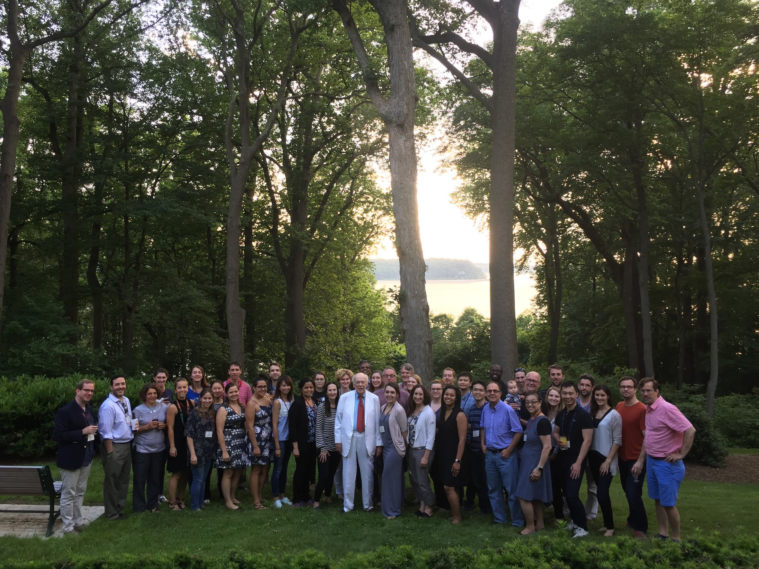 Workshop on Pancreatic Cancer Participants with Dr. James Watson, 2017