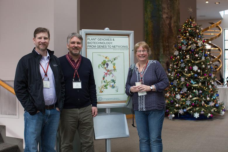 L to R: Ken Zaret, Fiona Watt, Marius Wernig; Photo by Constance Brukin