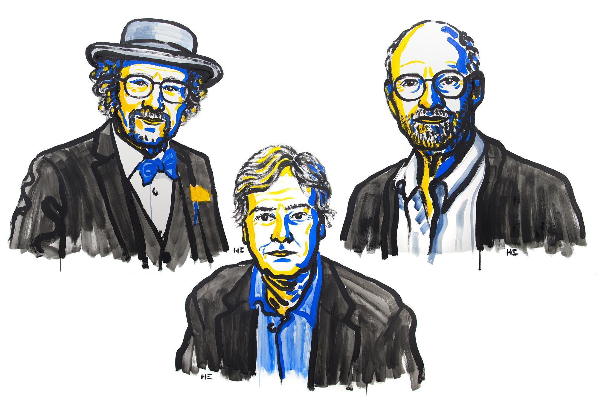 Illustration:Niklas Elmehed, Nobel Media AB 2017