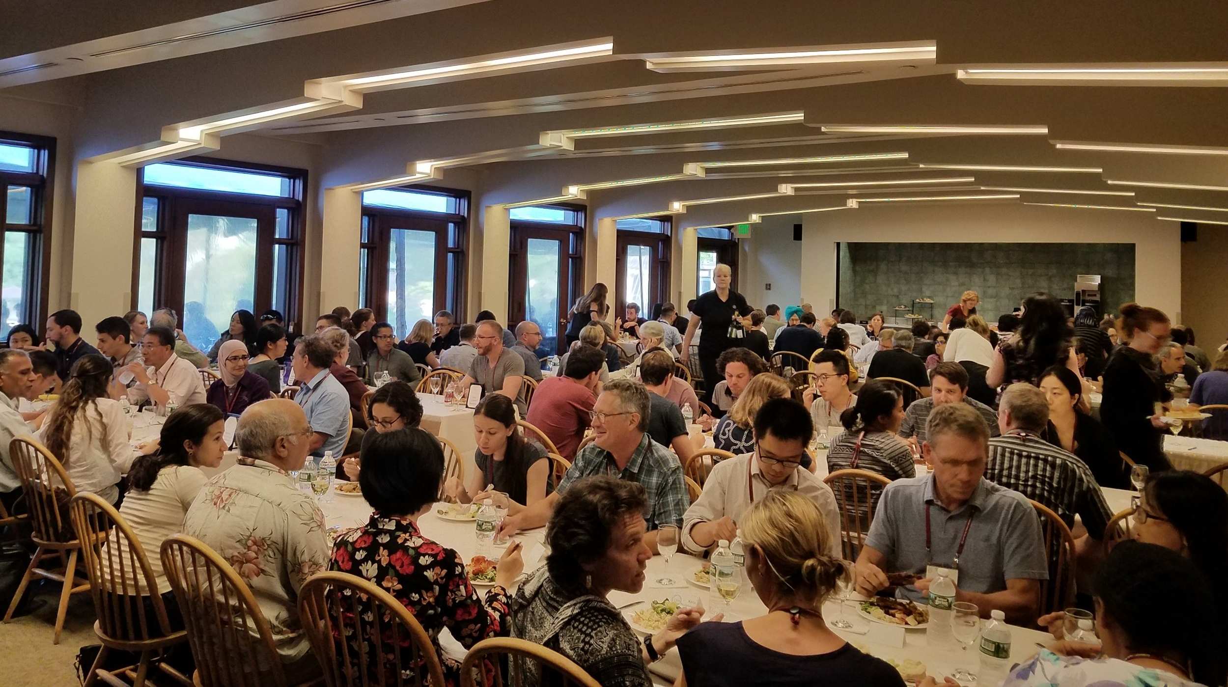 Career Dinner during the Eukaryotic mRNA Processing meeting in 2017.